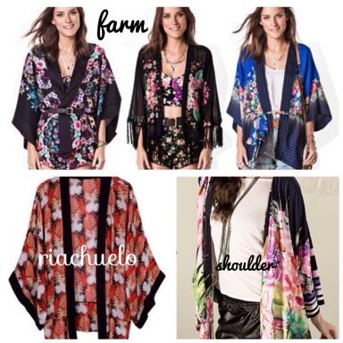 coleções kimonos