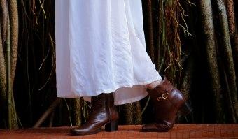 Foto: Mário Camarão, vestido: Romwe, botas: Sapataria Bettini, bolsa: C&A