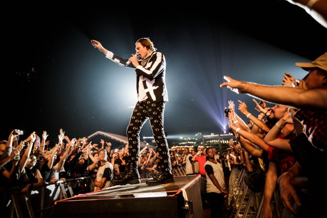 Arcade Fire se apresenta no Lollapalooza