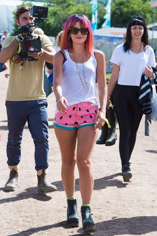 Glastonbury - Lily-Allen