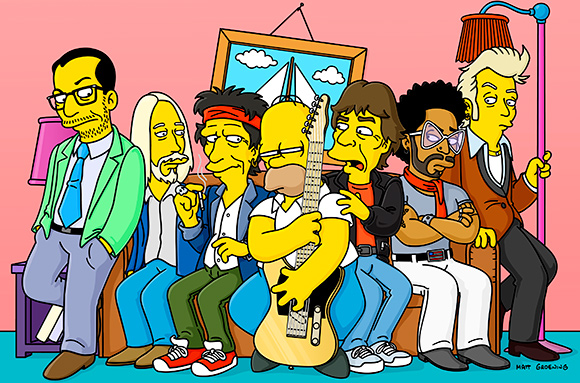 rock simpsons
